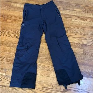 marmot black snow pants perfect condition